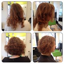 Curly Bob Restyle