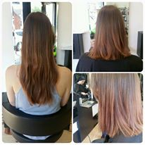 Restyled to long bob