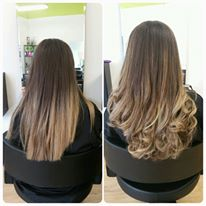 Added lighter pieces and refreshed existing balayage