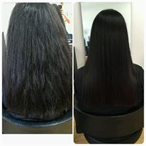 Keratin Therapy Blow dry